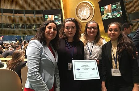 2017 National Model UN Team